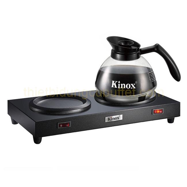 Hình bếp và bình hâm nóng cà phê