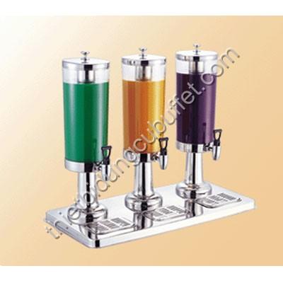 Bình chứa nước ép hoa quả buffet 3 ngăn 121316