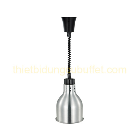 Đèn treo hâm nóng thức ăn buffet inox trắng DA2101