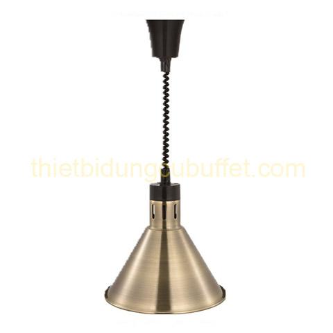 Đèn treo trần hâm nóng thức ăn inox màu đồng đen DA2110