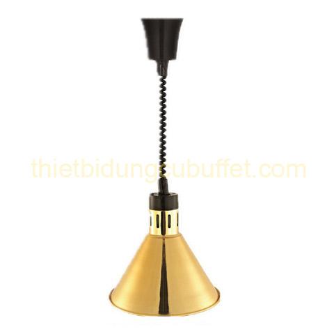 Đèn treo trần hâm nóng thức ăn inox màu vàng DA2111