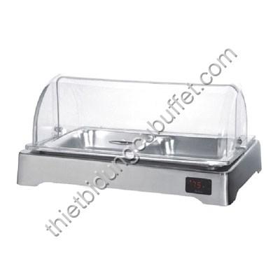 Khay đựng thức ăn buffet chữ nhật dùng điện SK62140-1