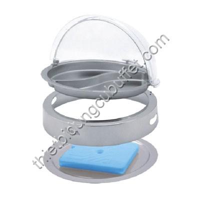 Khay đựng thức ăn buffet tròn giữ lạnh SC53120-1