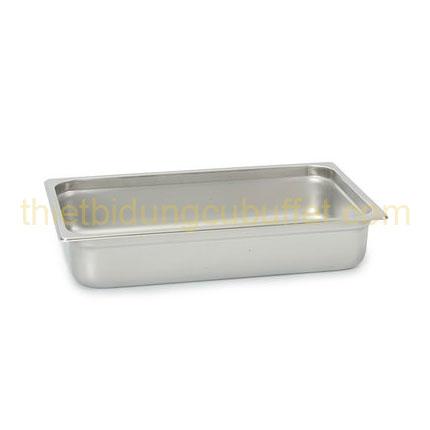 Khay gn 1/1 inox 304 cao 100 mm 711304-100