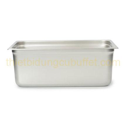 Khay gn 1/1 inox 304 cao 200 mm 711304-200