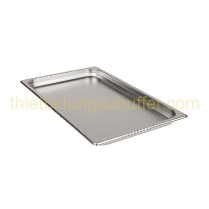 Khay gn 1/1 inox 304 cao 40 mm 711304-40