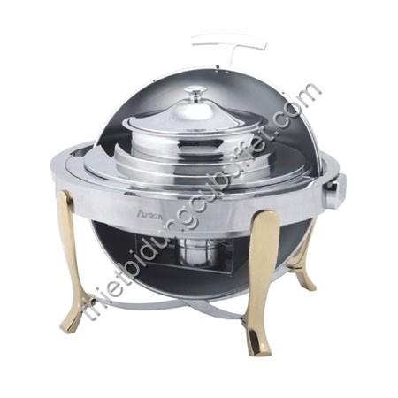 Nồi hâm nóng soup buffet tròn chân vàng DAT51181