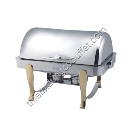 Nồi hâm nóng thức ăn buffet chân vàng DAT61161-2