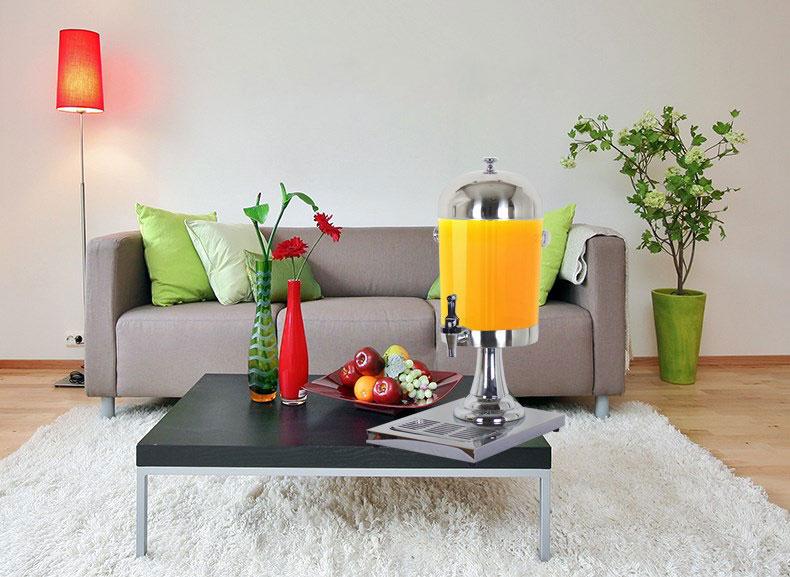 Cho thuê bình đựng nước ép trái cây hoa quả buffet inox tại tphcm