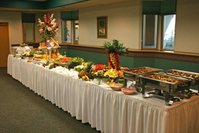 Quầy buffet tự chọn